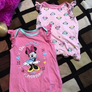 onesies minnie mouse 6-9 months used